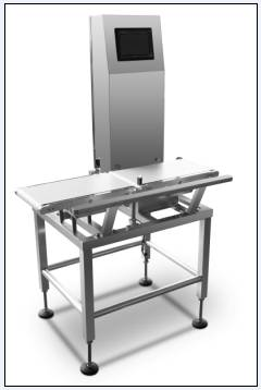 Automatic Conveyor Check Weigher With Partical Belt Flap Rejector