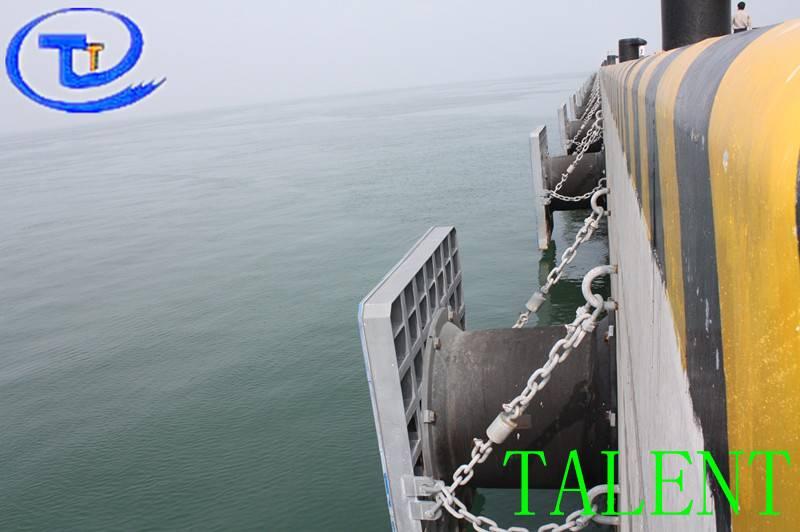 super cell rubber fender for dock