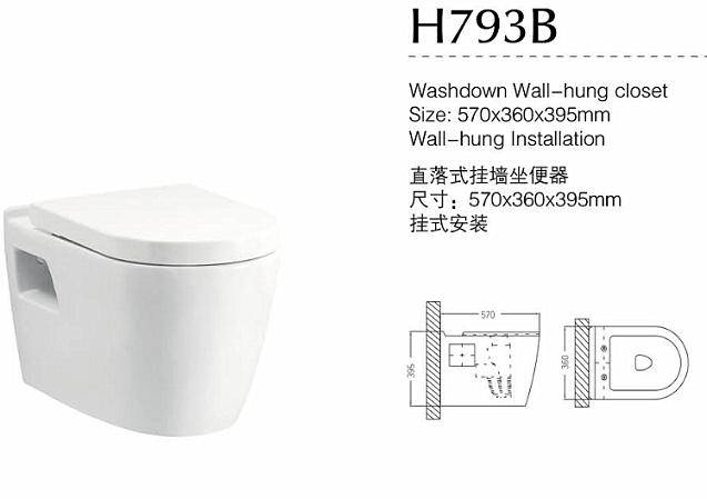 New Design Sanitary Ware SASO One-piece Toilet