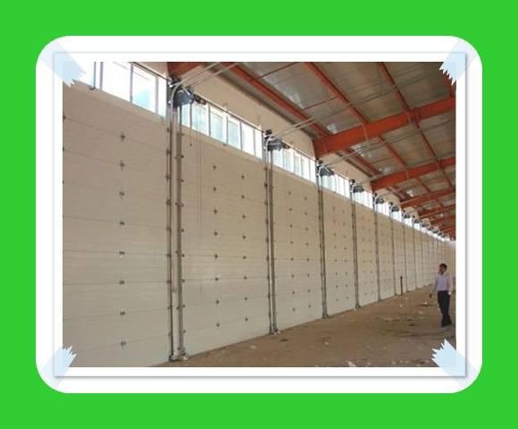 overhead sectional garage door