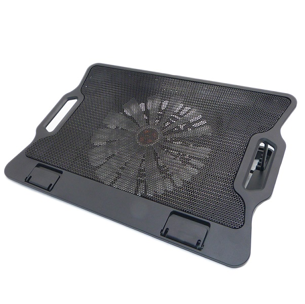 "NCP86 15"" Laptop Cooling Pad with Movable Fan, USB 2.0 dual ports Hub and 6 Ergonomic Height Setting"