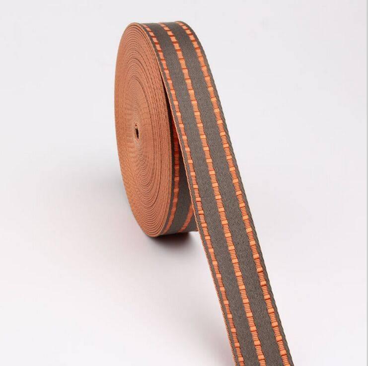 High tenacity nylon webbing polyester webbing jacquard nonelastic tape