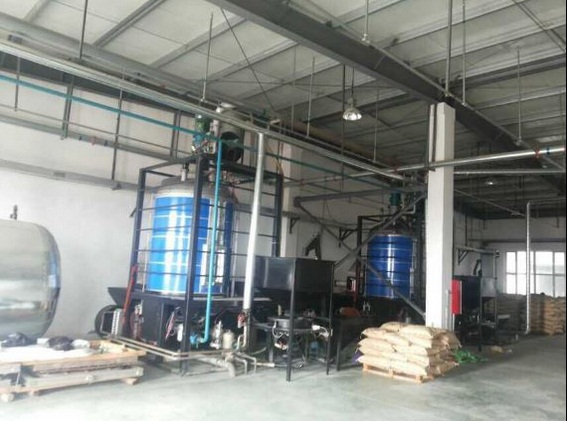 EPS foam machine batch pre-expander expanded polystyrene machine