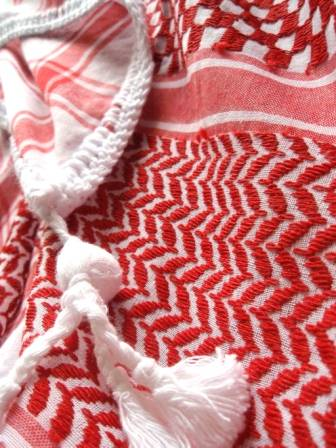 Jacquard Yashmagh scarf for Palestinian/Iraqi/Jordanese/Yemen/Kwuit/ Oman DX01001