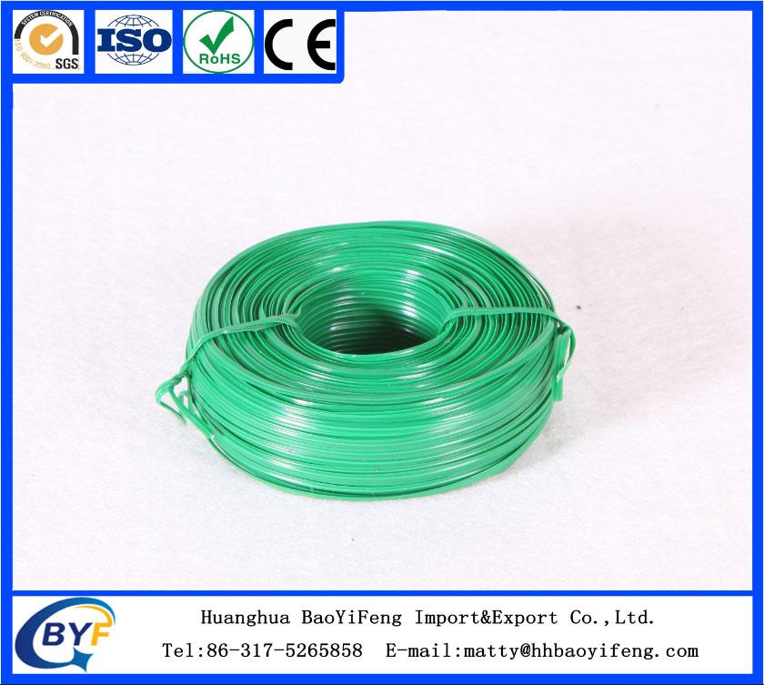 plastic coated iron wire