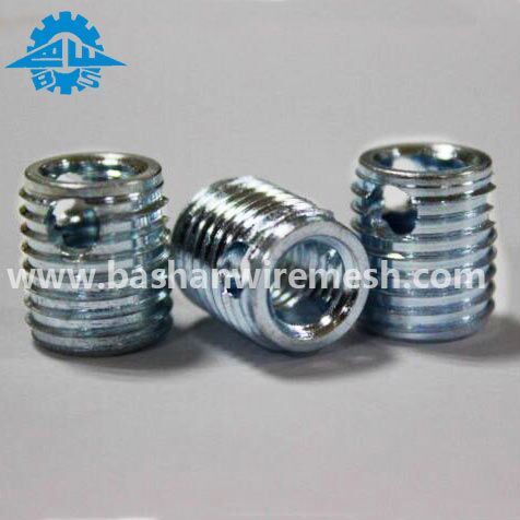 self tapping threaded insert keensert tap lok slotted series threaded inserts color helicoils insert