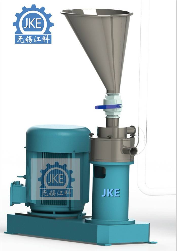 PLM-15 Powder Liquid Mixer Lubricant Grease Making Machine