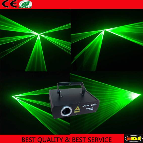 300mw Green animation laser light for stage