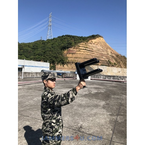 DIRECTIONAL ANTENNA 32-40W RC DRONE JAMMER UP TO 1000M