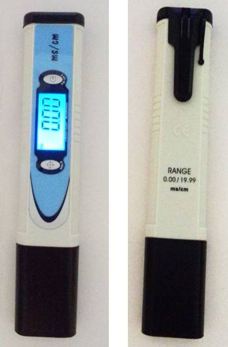 CD-989 waterproof conductivity meter hold conductivity tester