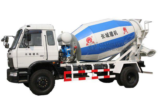 Hydraulic Concrete Mixer Truck