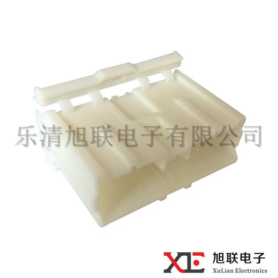 Plastic Crimping Terminal KET PA66 22Pin Connector Housing MG620416