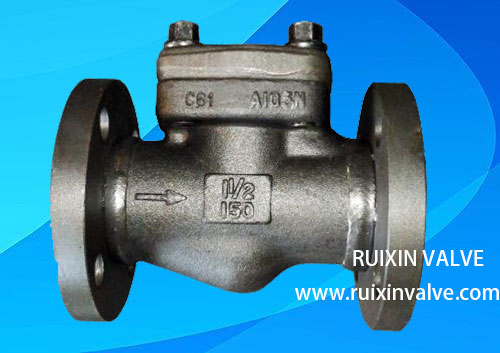API602 Industrial swing check valve forged steel