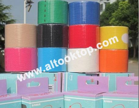 Kinesio taping kinesiology Tape 5CM*5M mixed colors Sports tape Therapy tape good quality muscle tap