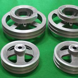 The agricultural machinery casting parts (pulley for farm master)
