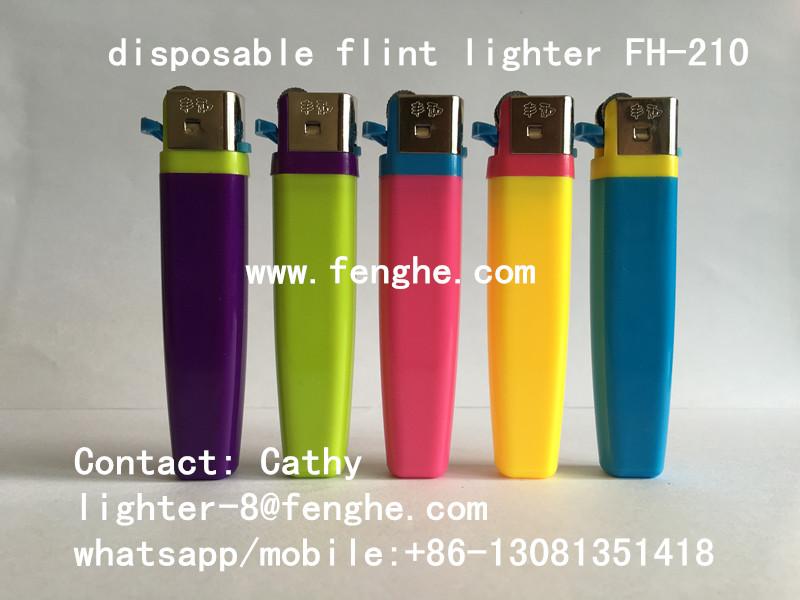 FH-210 slim flint lighter