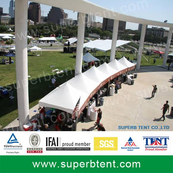 Small event tent marquee