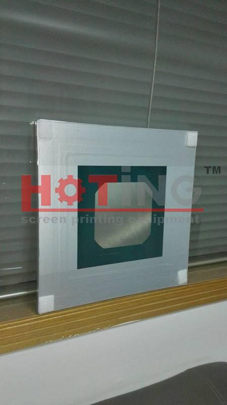 Aluminum pre-stretched frame