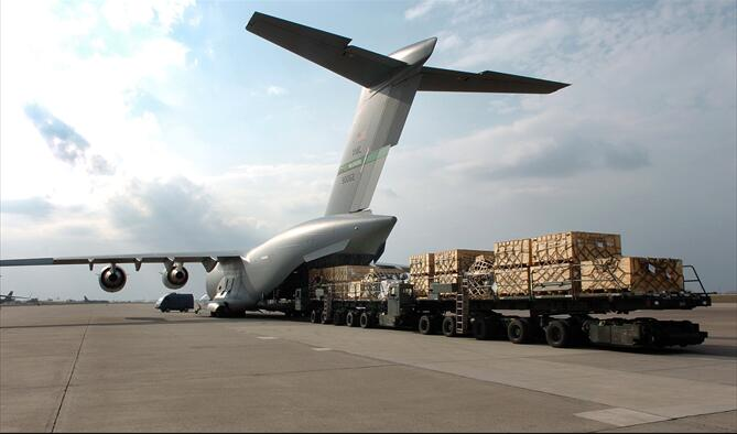 Air Freight from China to Sandakan