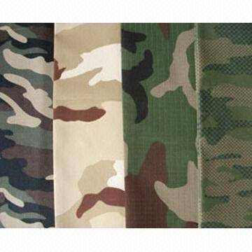 camouflage,cotton fabrics,