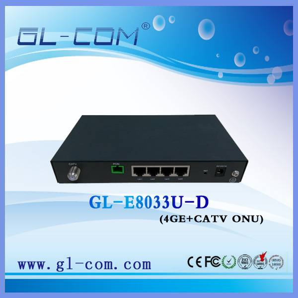 Network equipment Fiber to the home FTTH GEPON CATV ONU