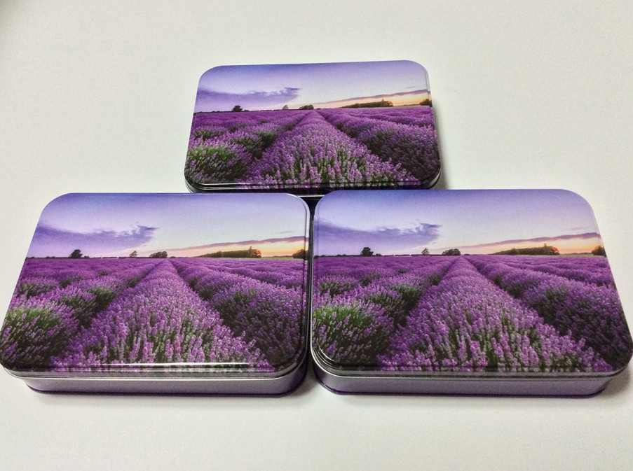 Stationery Sets Tin Box beautiful design printing picture