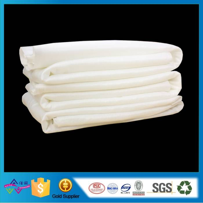 Disposable nonwoven towel