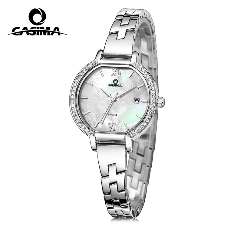 Women fashion watch with cz setting
