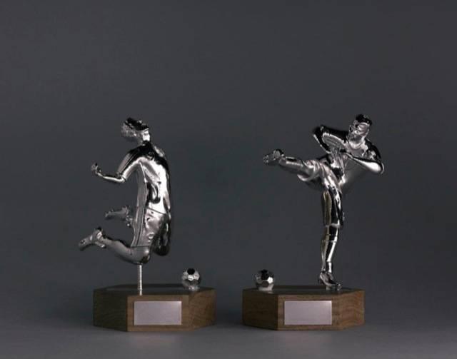 TROPHY AWARDS TRO1002 FOOTBALLER TROPHY  AWARDS