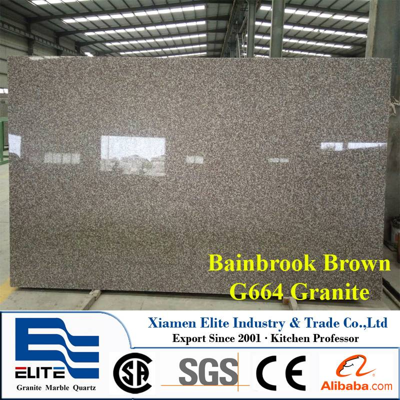 G664 Bainbrook Brown Granite Slab natural stone