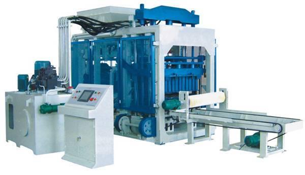 JL8-15 hydraulic block shaping machine