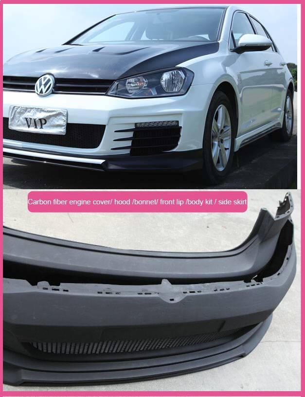 OEM vacuum bagging carbon fiber auto parts hood, front lip, spoiler, bumper for various aftermarket