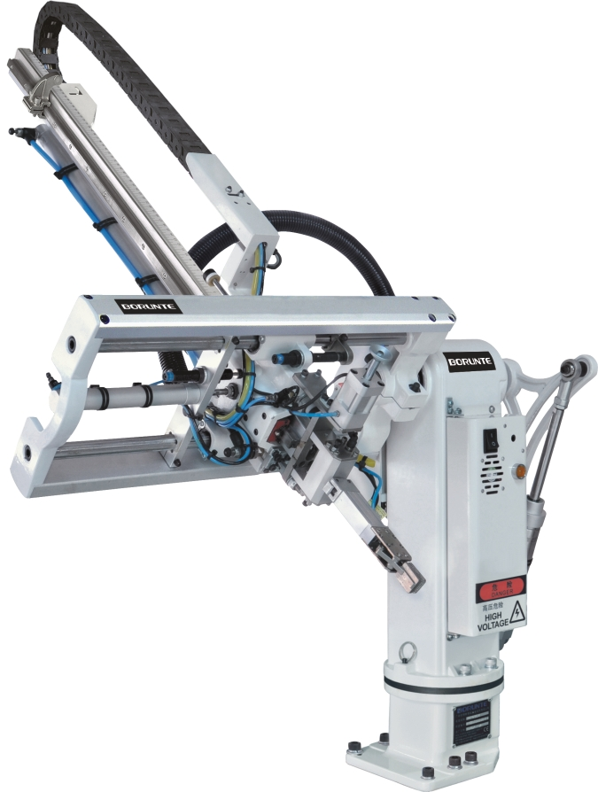 Swing-arm Robot for Injection Moulding Machinery