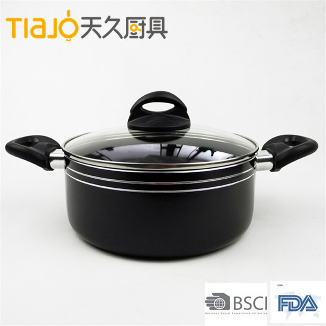 Healthy Durable Eco-friendly sauce pot with Nonstick Ceramic Coating