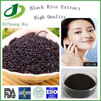 100% Natural Black Rice Extract Anthocyandins