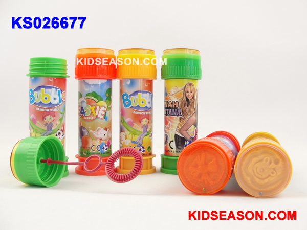 KIDSEASON 60ml / 2oz soap bubble blower toys