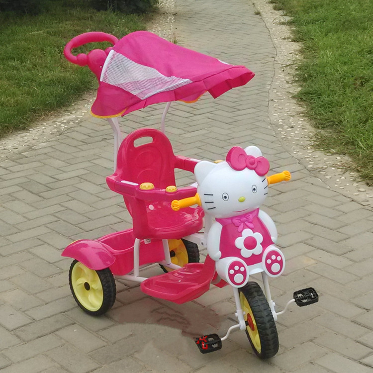 4 in 1 baby tricycles with canopy/wholesale children tricycle with push bar / multifunctions trike f