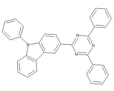 3-(4,6-Diphenyl-1,3,5-triazin-2-yl)-9-phenyl-9H-carbazole