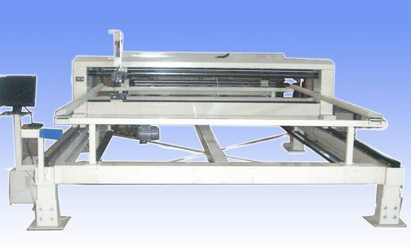 single head quilting machine