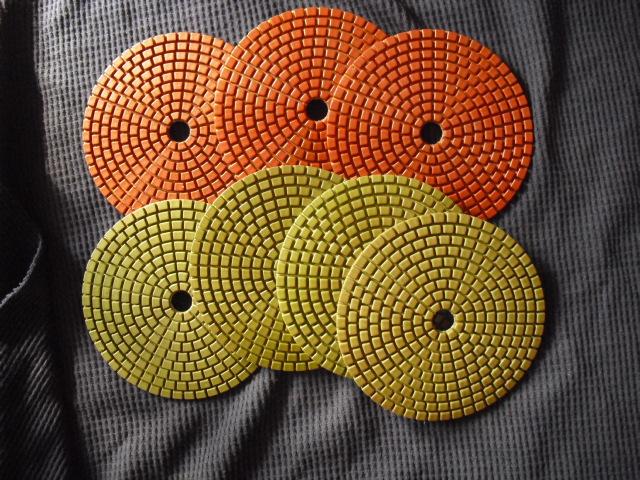 Resin metal chip Polishing Pads