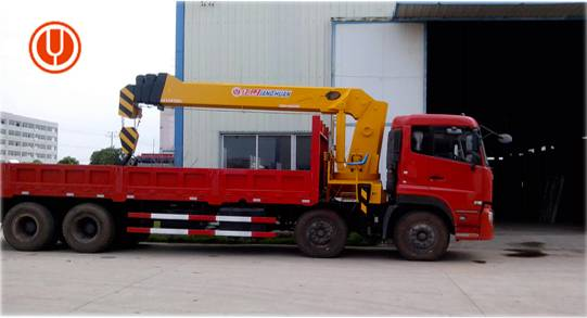 Heavy duty lift crane 16 ton hydraulic boom truck mobile crane