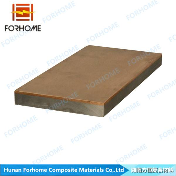 Tin Bronze-Steel Clad Wear Plate