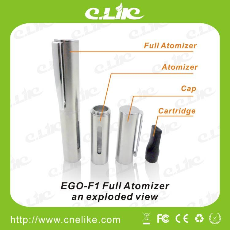 Colorful Large Vapor EGO F1 Huge Capacity Battery with Changeable Atomizer Head