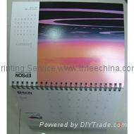 Calendars printing and publish service,desk calendar,wall calendar