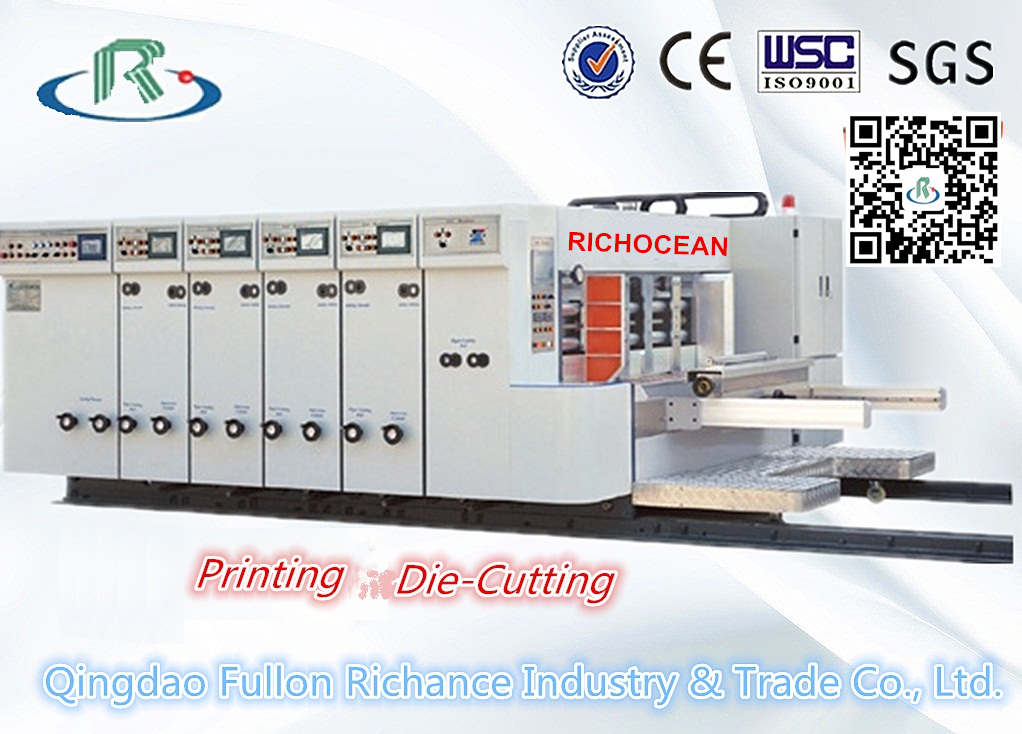Auto Flexo Printing Slotting Rotary Die Cutting Machine