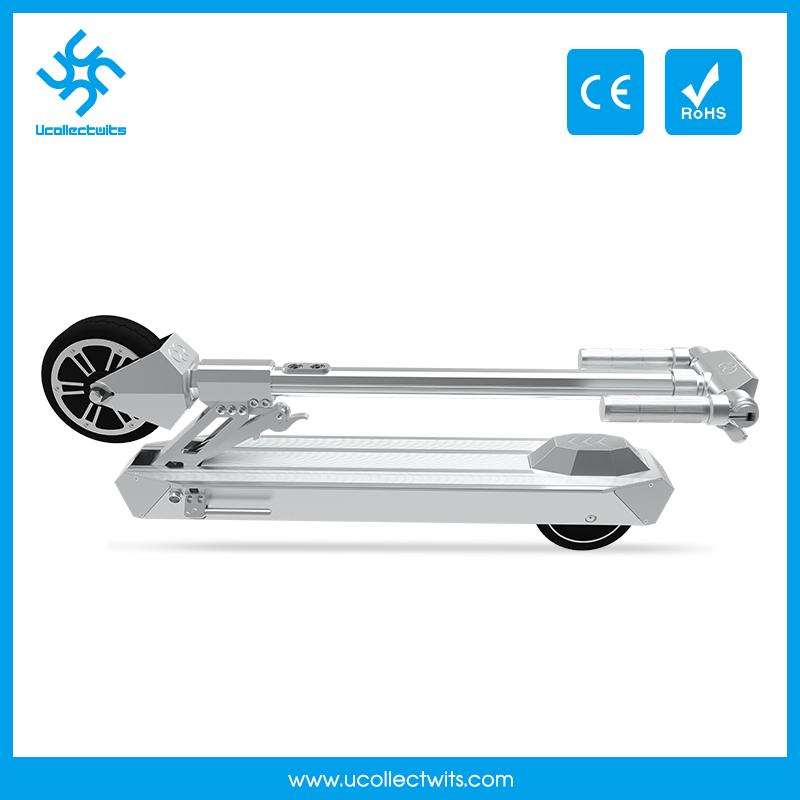 U6b double brake light folding E-scooter