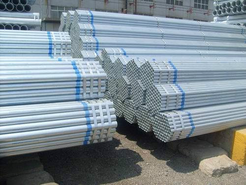 bs1387 galvanized steel pipe q235/a53 scaffolding tube for outdoor fence post construction