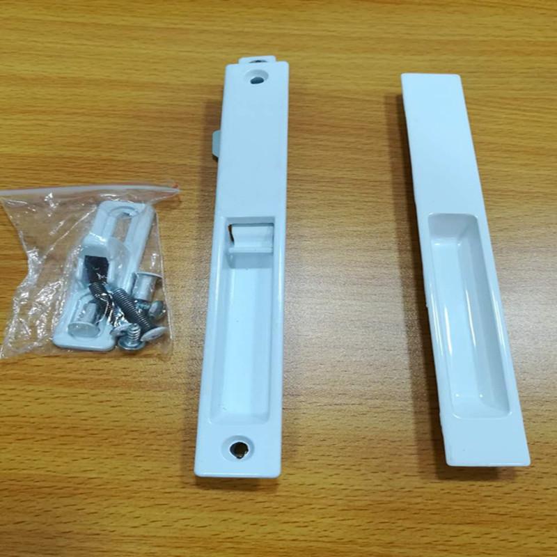 New Arrival Single Side Window Lock High Quality Custom Aluminum Sliding Door Hook Lock For Window