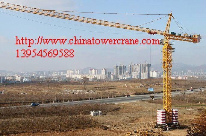 QTZ500 Big tower crane
