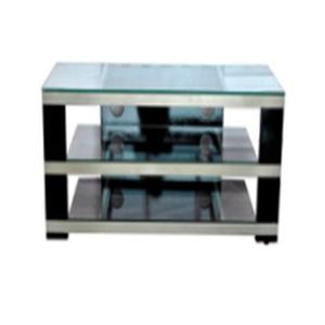 arabesquitic design glass tv stand